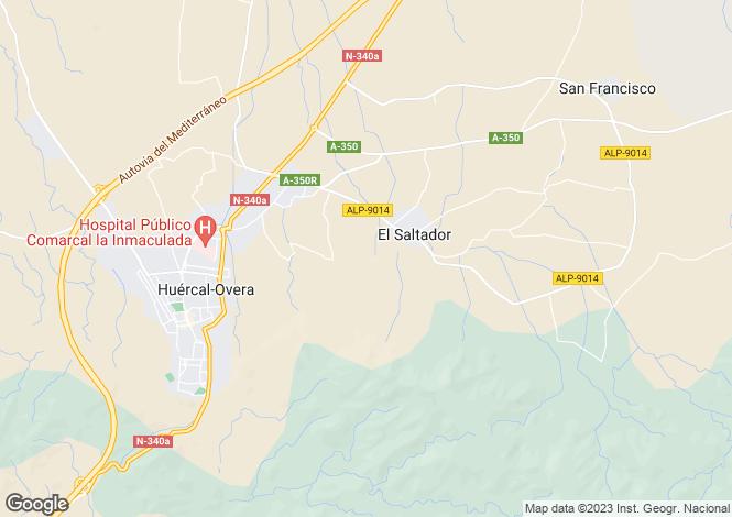 Map for El Saltador, Almería, Andalusia