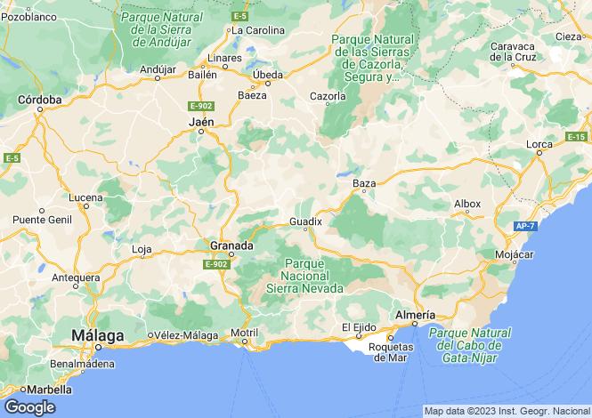 Map for Elle Margen Cullar ,Granada ,Spain
