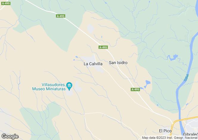 Map for Gibraleón, Huelva, Andalusia