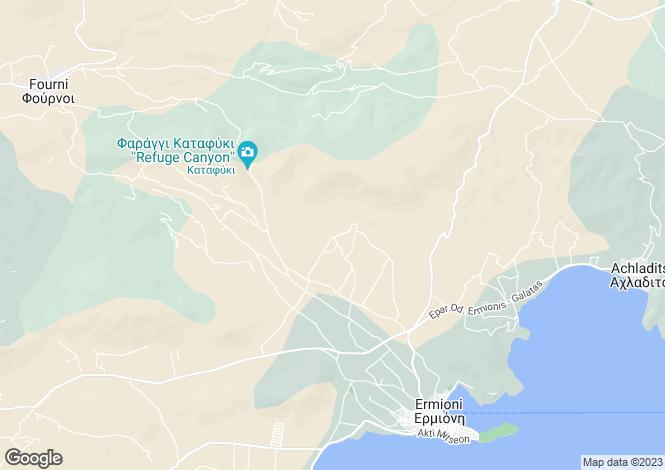 Map for Peloponnese, Argolis, Ermioni