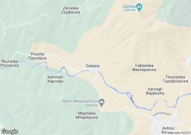 Map for Douliana, Chania, Crete