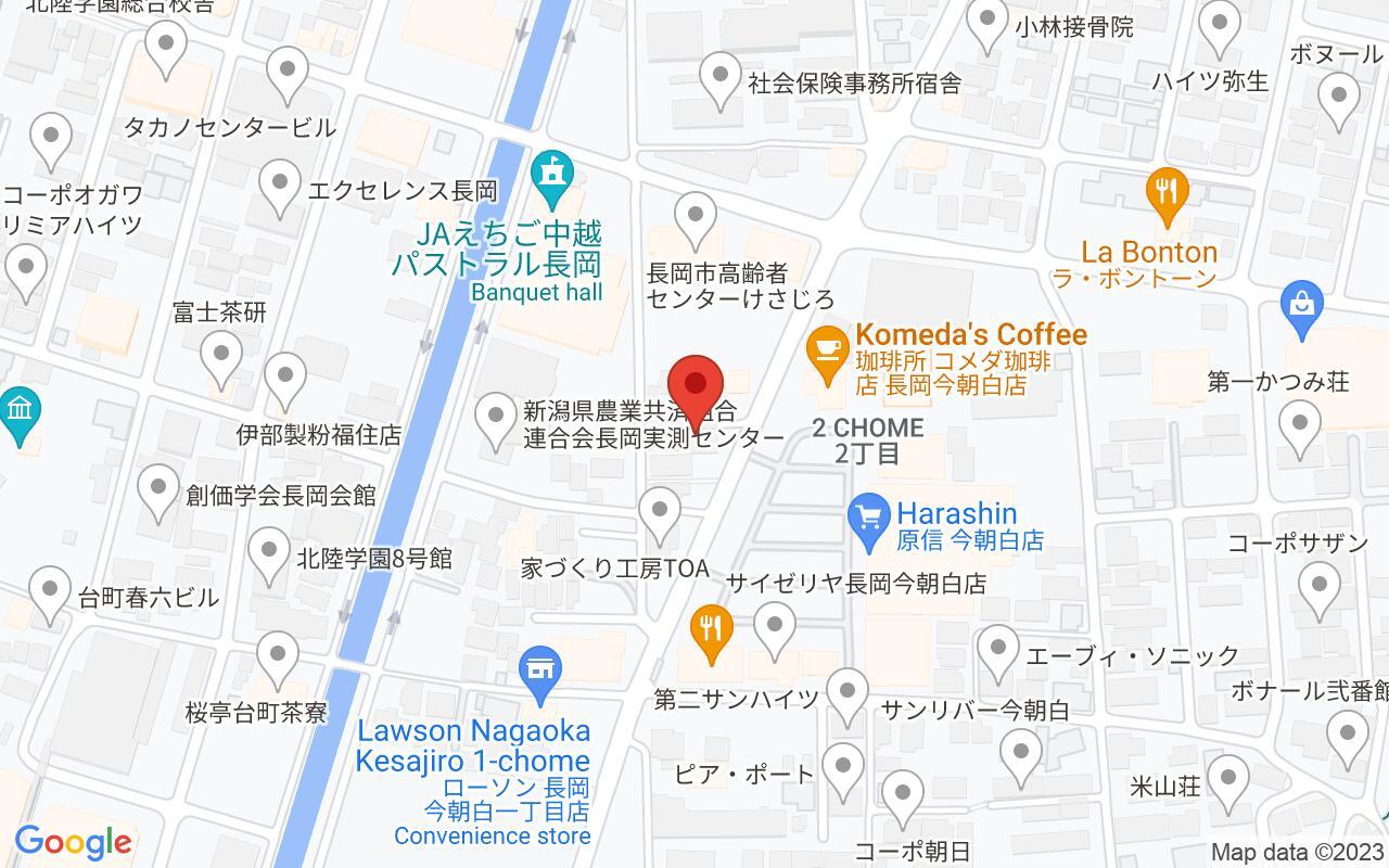 新潟県長岡市今朝白2-8-38