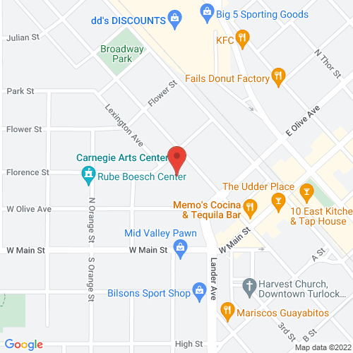 Map of 244 N. Broadway, Turlock, CA