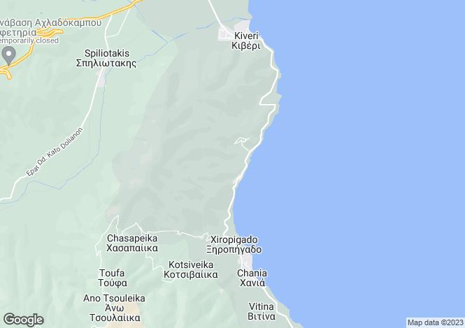 Map for Kiveri, Argolis, Peloponnese