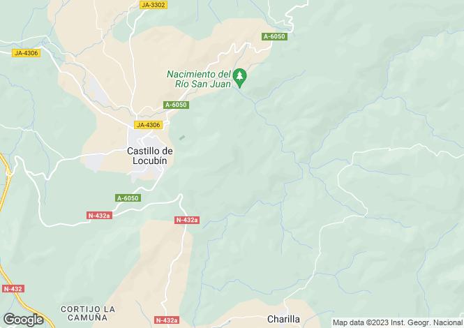 Map for Castillo De Locubin, Jaen, Spain