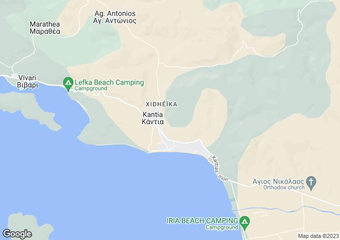 Map for Kantia, Argolis, Peloponnese