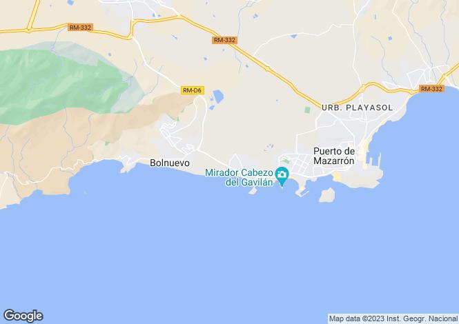 Map for Puerto De Mazarron, Murcia, Spain