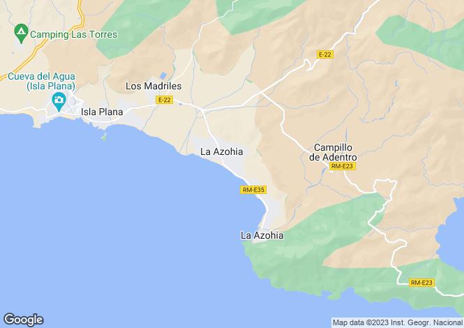 Map for La Azohía, Murcia