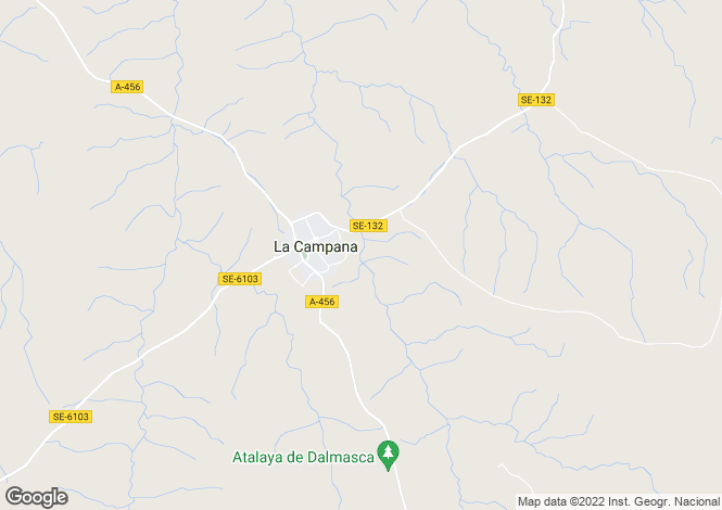Map for La Campana, Malaga, Spain