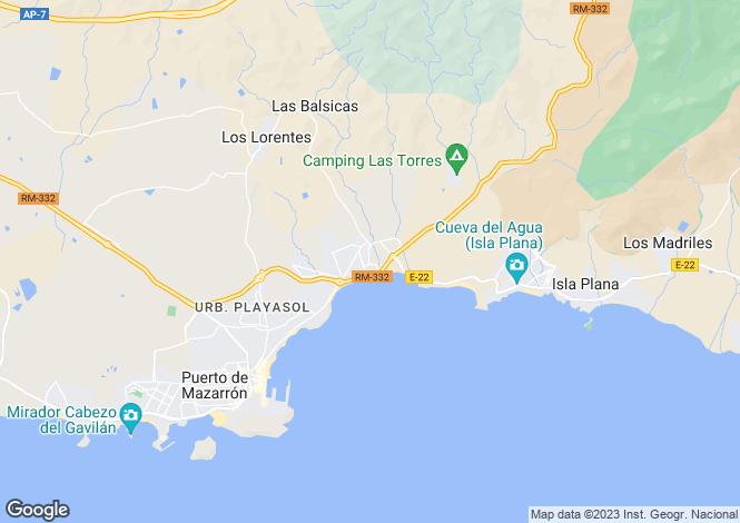 Map for El Alamillo, Murcia