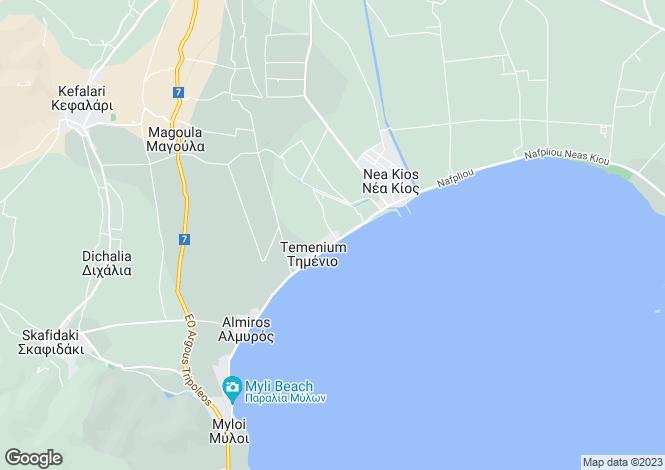 Map for Peloponnese, Argolis, Nea Kios