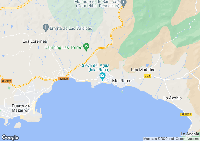 Map for ,  Murcia, Spain
