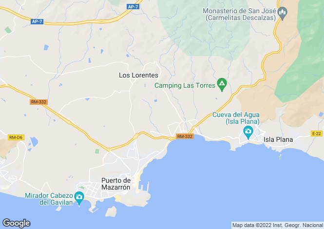 Map for El Alamillo, Murcia, Spain