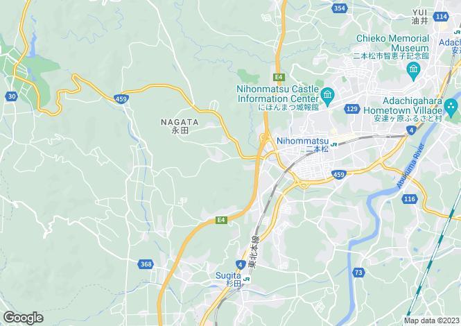 Map for Fukushima