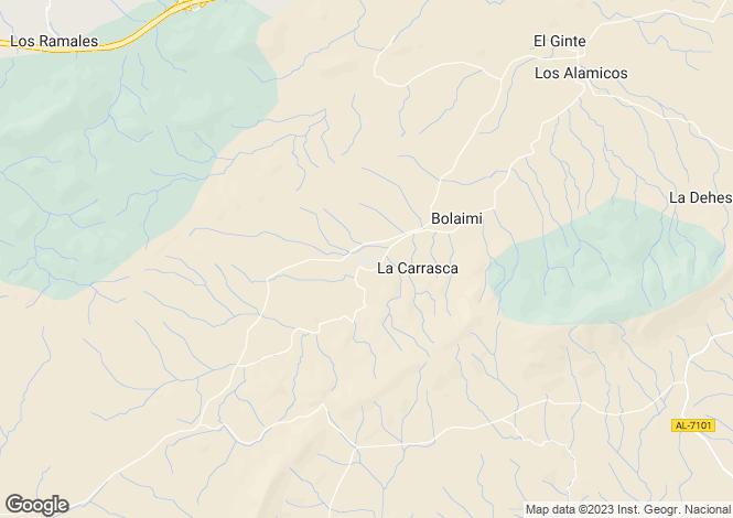 Map for Andalucia, Almería, Vélez-Rubio