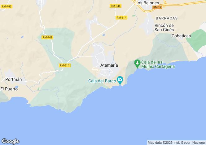 Map for La Manga Club, Murcia