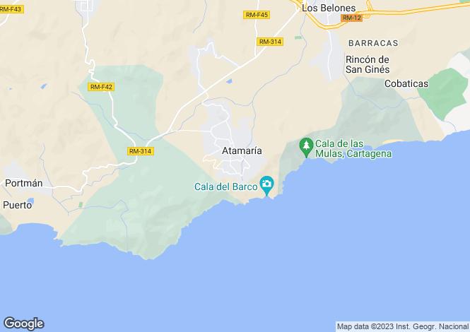 Map for Murcia, La Manga Club