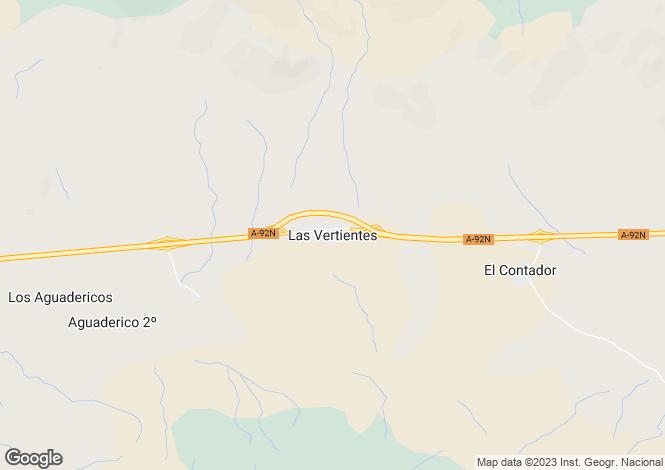 Map for Las Vertientes, Granada