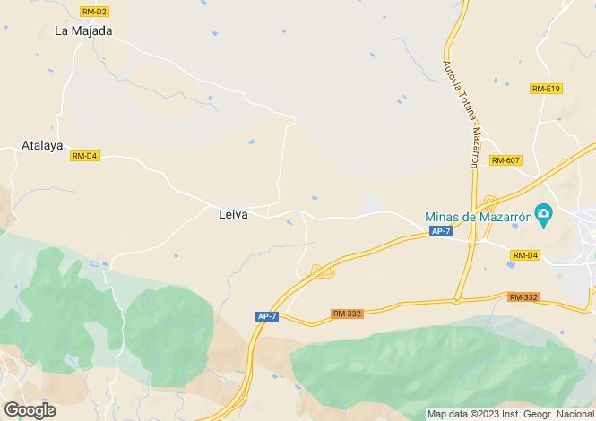 Map for Leiva, Murcia, Spain