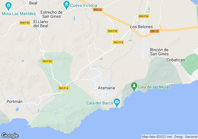 Map for La Manga Club