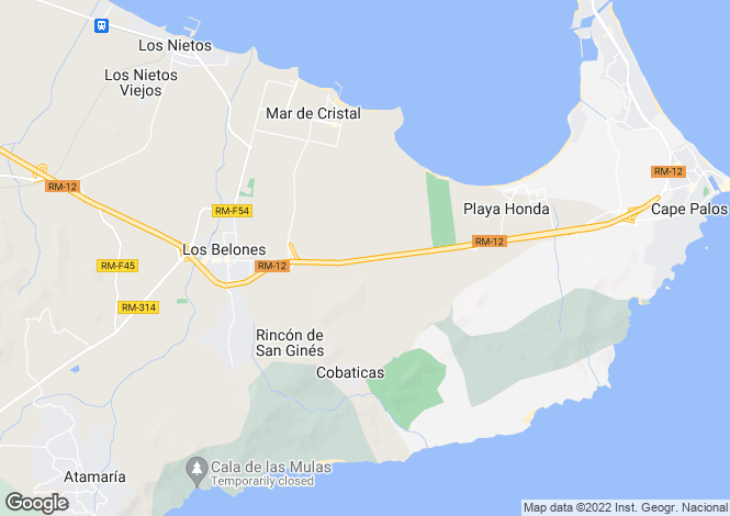 Map for La Manga Club, REF - LMV10 ,La Manga Club ,Murcia ,Spain