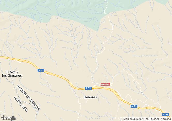 Map for Lorca, Murcia