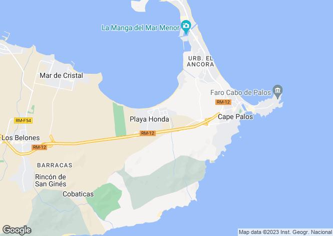 Map for Mar Menor, Murcia