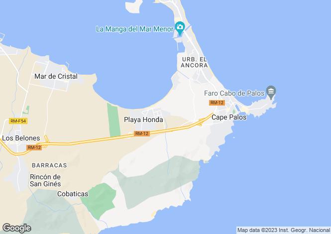 Map for Murcia, Mar Menor Resort