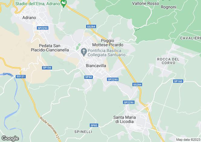 Map for Abruzzo, Teramo, Contrada Valloni