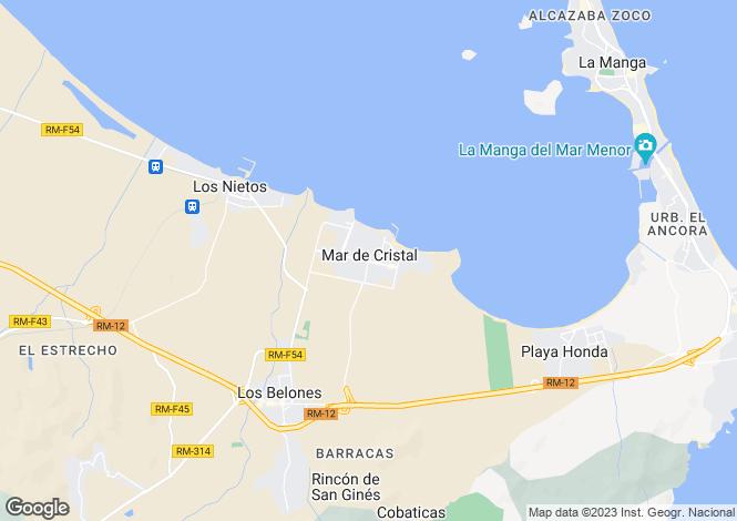 Map for Mar De Cristal, Murcia, Spain