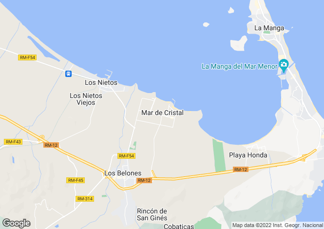 Map for Mar De Cristal, Murcia, Spain