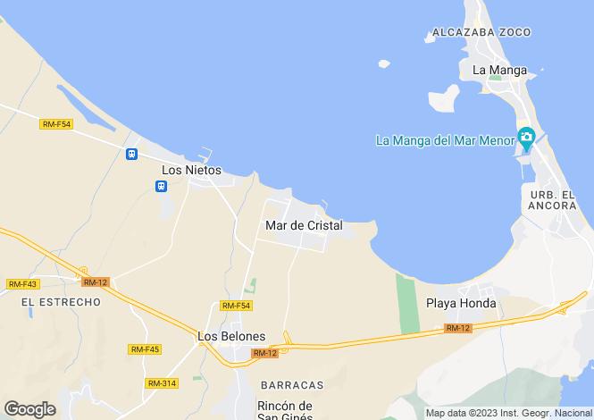 Map for Mar De Cristal, Murcia