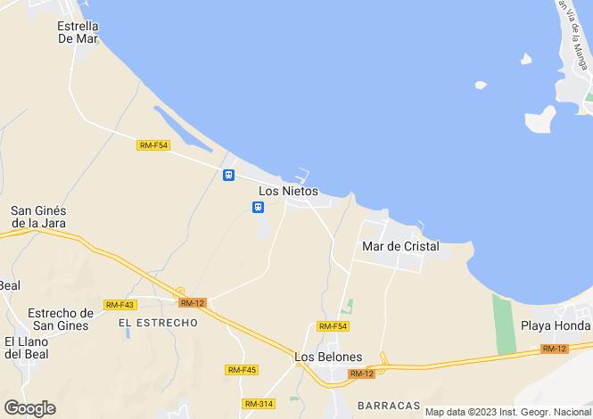 Map for Los Nietos, Murcia