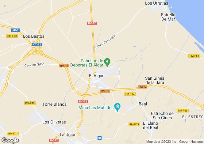 Map for Murcia, El Algar