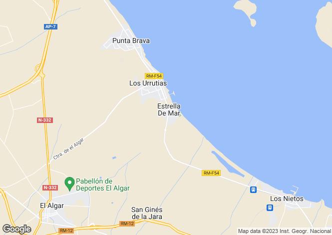 Map for Murcia, Estrella Mar