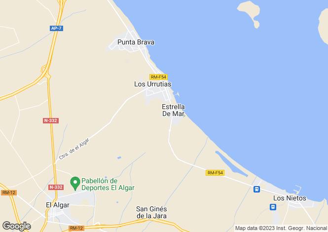 Map for Los Urrutias