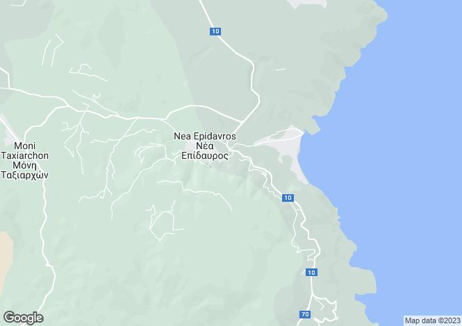 Map for Nea Epidavros, Argolis, Peloponnese