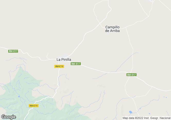 Map for La Pinilla, Murcia, Spain