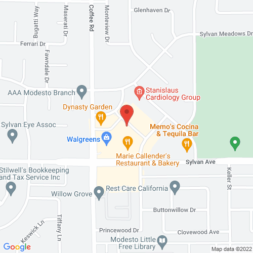Map of 3500 Coffee Road, Modesto, CA