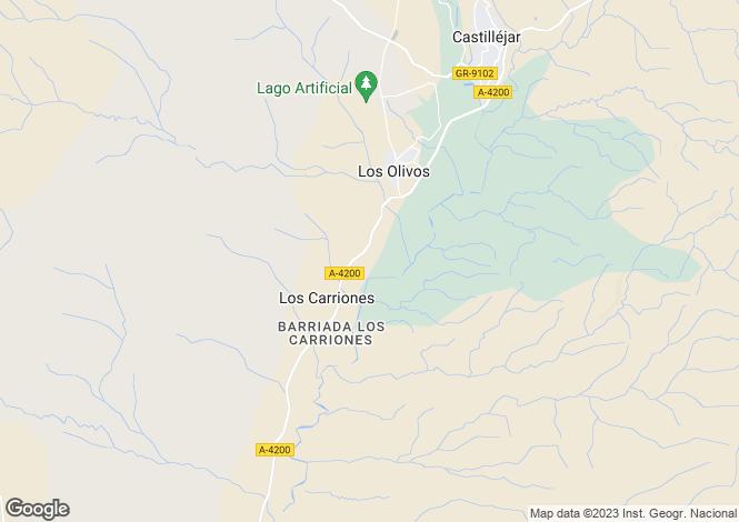 Map for Castillejar, Granada, Andalusia