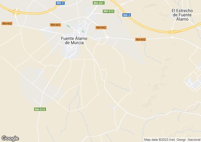 Map for Hacienda del Alamo, Abanilla, Murcia, Spain