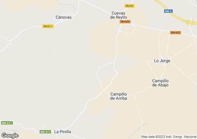 Map for Murcia, La Pinilla