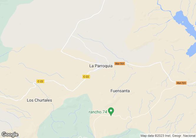 Map for Murcia, La Parroquia