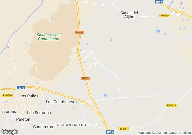 Map for Murcia, Condado de Alhama Golf Resort