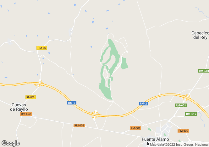 Map for Murcia, Murcia, Spain