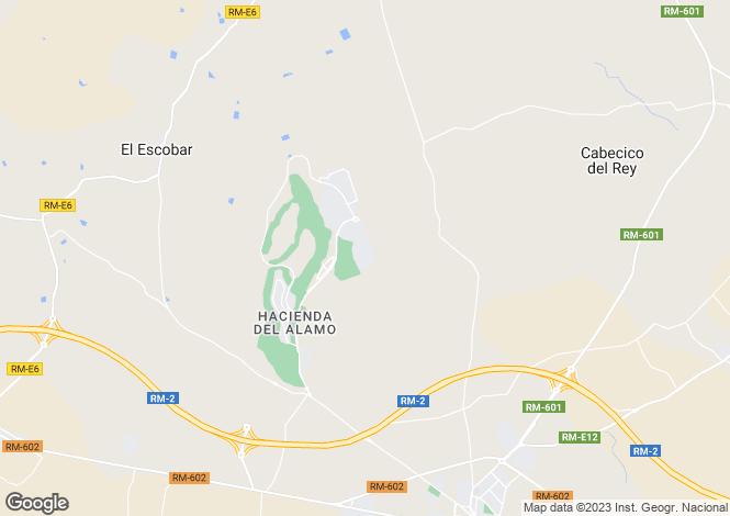 Map for Hacienda Del Alamo, Murcia