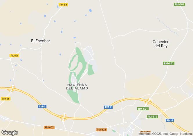 Map for Murcia, Hacienda Del Alamo