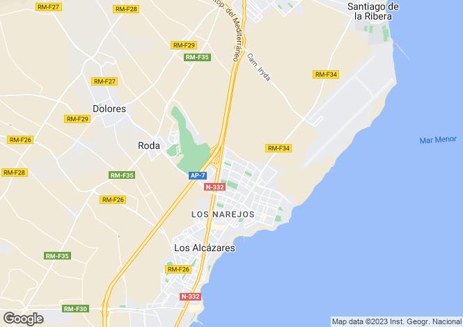 Map for Murcia, Roda Golf