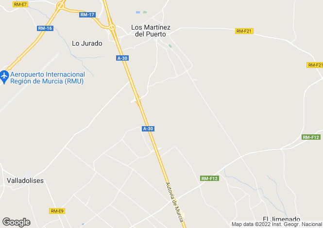 Map for Mar Menor, , Murcia