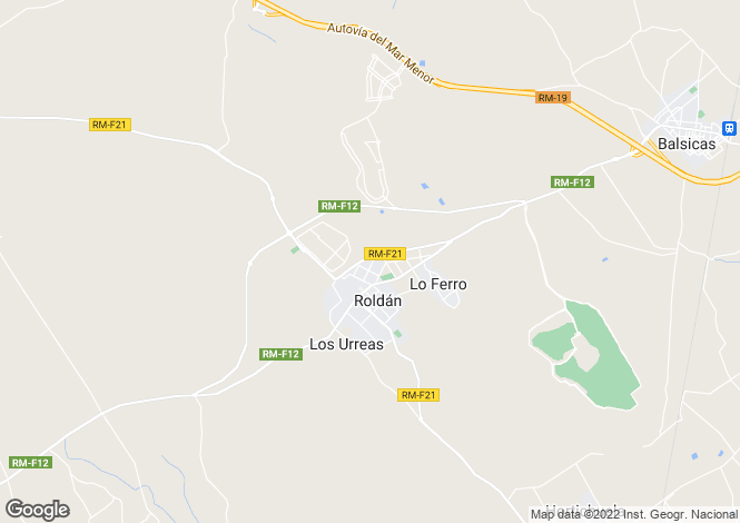 Map for Roldan, Murcia